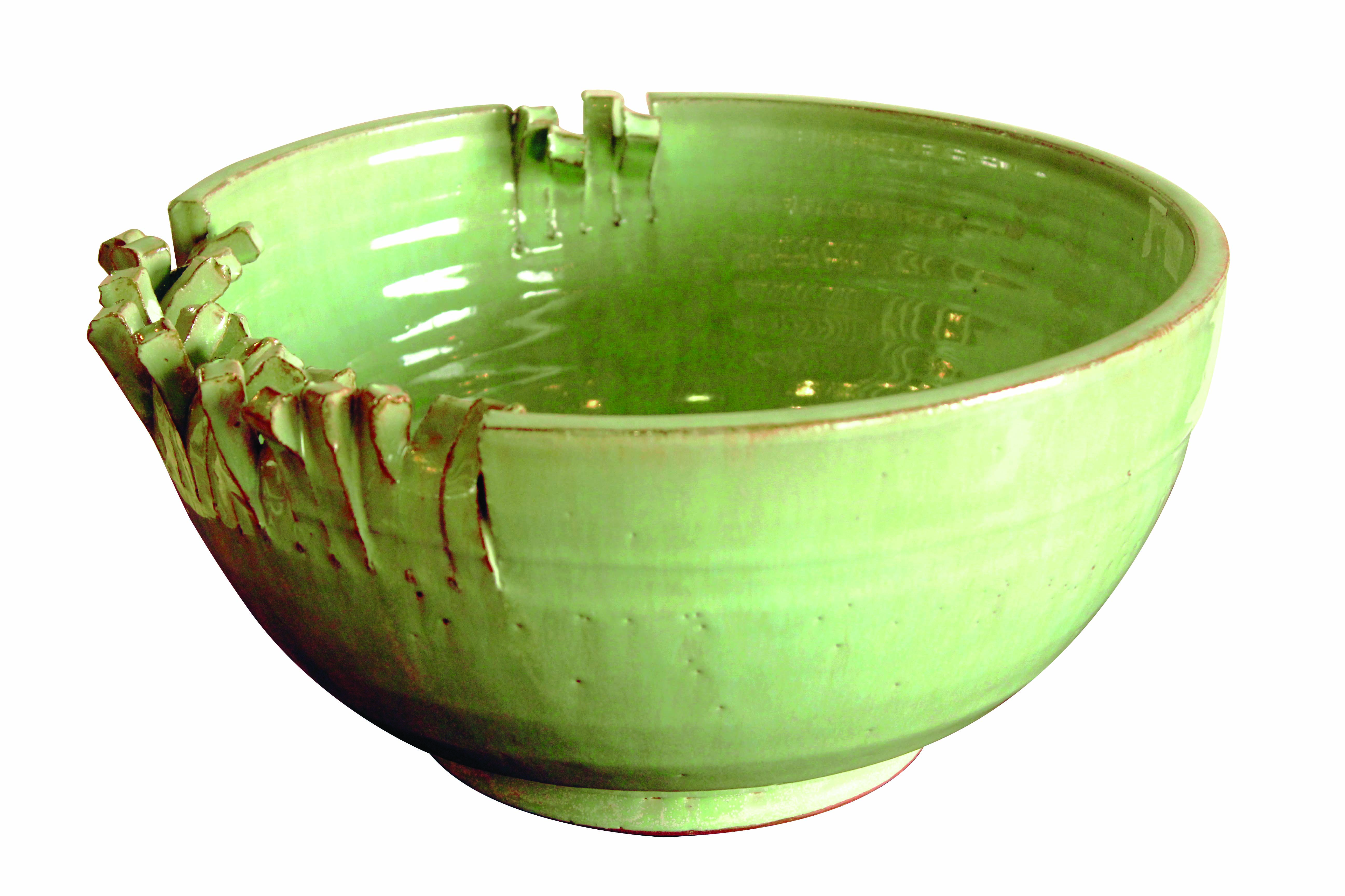 Green Porcelain Vase from Furniture Republic