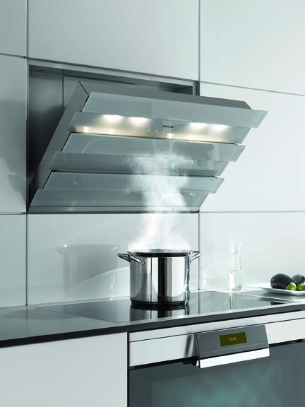 An innovative cooker hood from Miele
