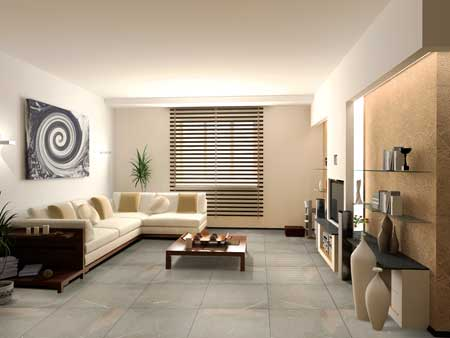 home with nitco s latest tru life living room series of floor tiles ...