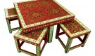 Rajasic Art dining table from Baaya Design
