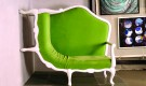 Green Sofa Chair from Anemos