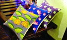 Painted cushion covers from The Delhi Design Store