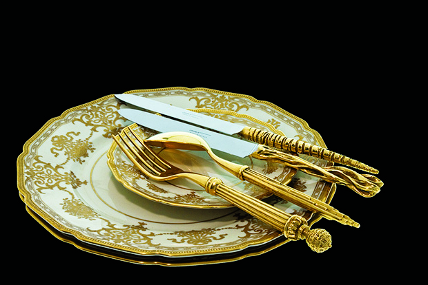 If ... : gold plated tableware - pezcame.com