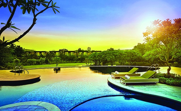 Celsius the pool is the perfect place to unwind with your favourite drink.