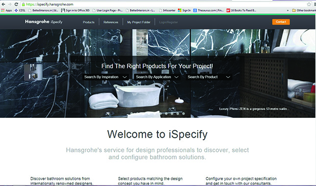 Hansgrohe launches iSpecify Tool - Moneycontrol.com