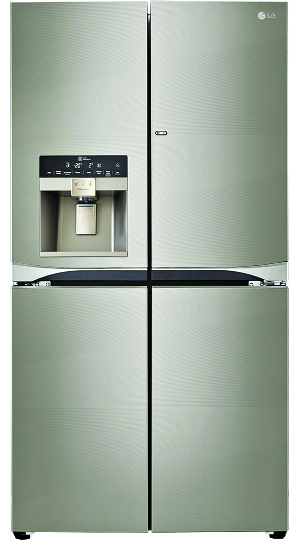LG Door-in-Door Refrigerator with Water & Ice Dispenser copy
