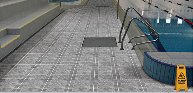 Presenting Five Attractive Antiskid And Antislip Floor Tiles - Anti skid flooring material