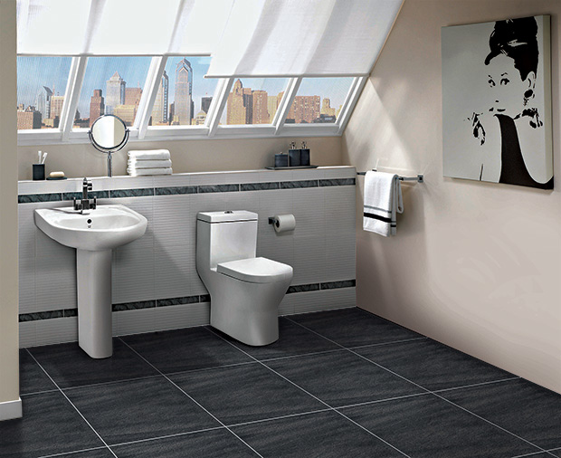 Presenting five attractive anti skid and anti slip floor tiles options for your bathrooms for Anti skid tiles for bathroom india