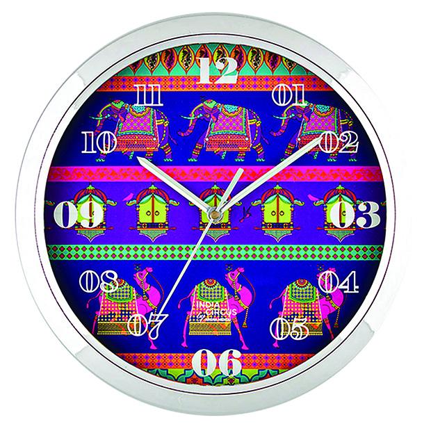 india-Royal-Animals-Wall-Clock copy