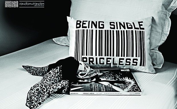 Being Single Cushion copy