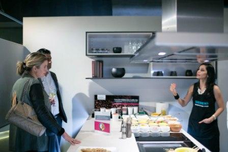 Chef Goodword, Dusit Devarana at the Siemens experience space