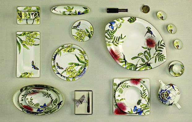 DE: Villeroy & Boch, Tischkultur, Kollektion 2014, Amazonia Anmut