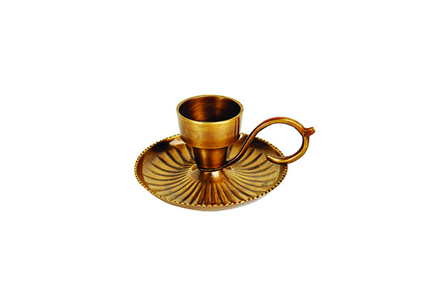 Fabindia-Antique Brass Candle Holder MRP Rs. 490 copy