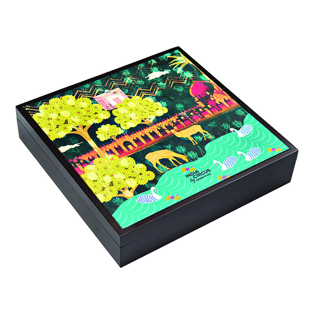 INDIA CIRCUS-Sanctum of Chital Large Storage Box copy