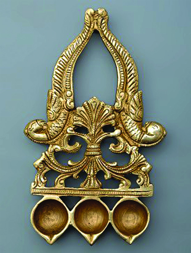 Jaypore-Brass Diya with Peacock Design_INR 990 copy
