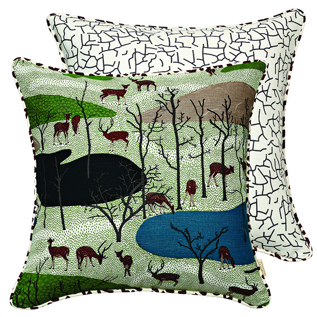 Safomasi Spotted Deer Cushion 45x45_Rs.2250 copy