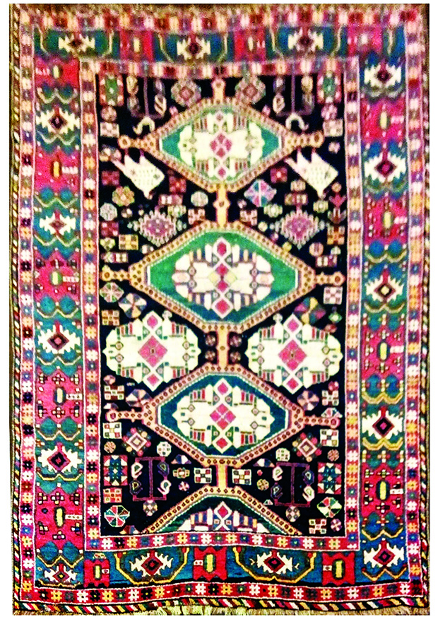Cocoon Fine Rugs-TRIBAL ROMANCE copy