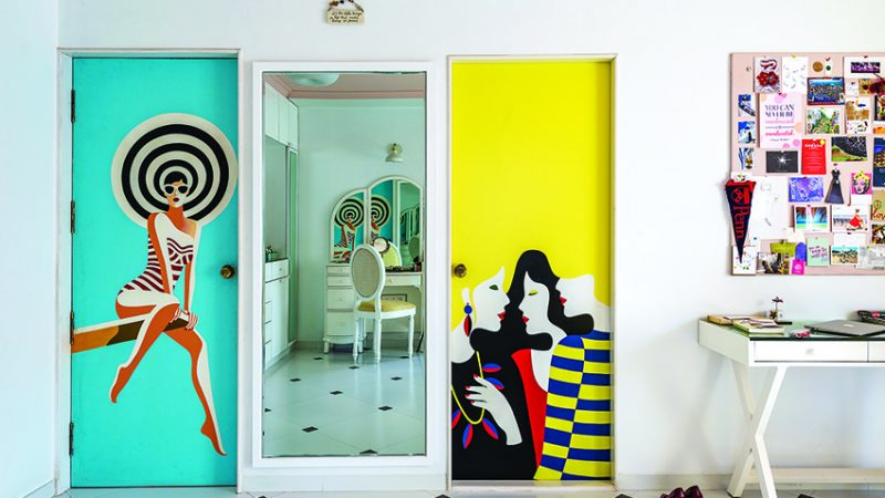 The House of Painted Doors