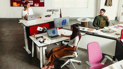 Steelcase: Diversal modular office furniture