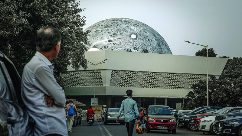 Asian Paints and Sideways collaborate with St+Art to create Lunar Dome