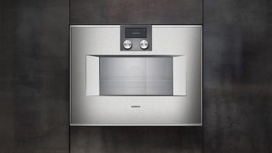 BSH Home Appliances: Gaggenau's combi-steam oven range 400 and 200